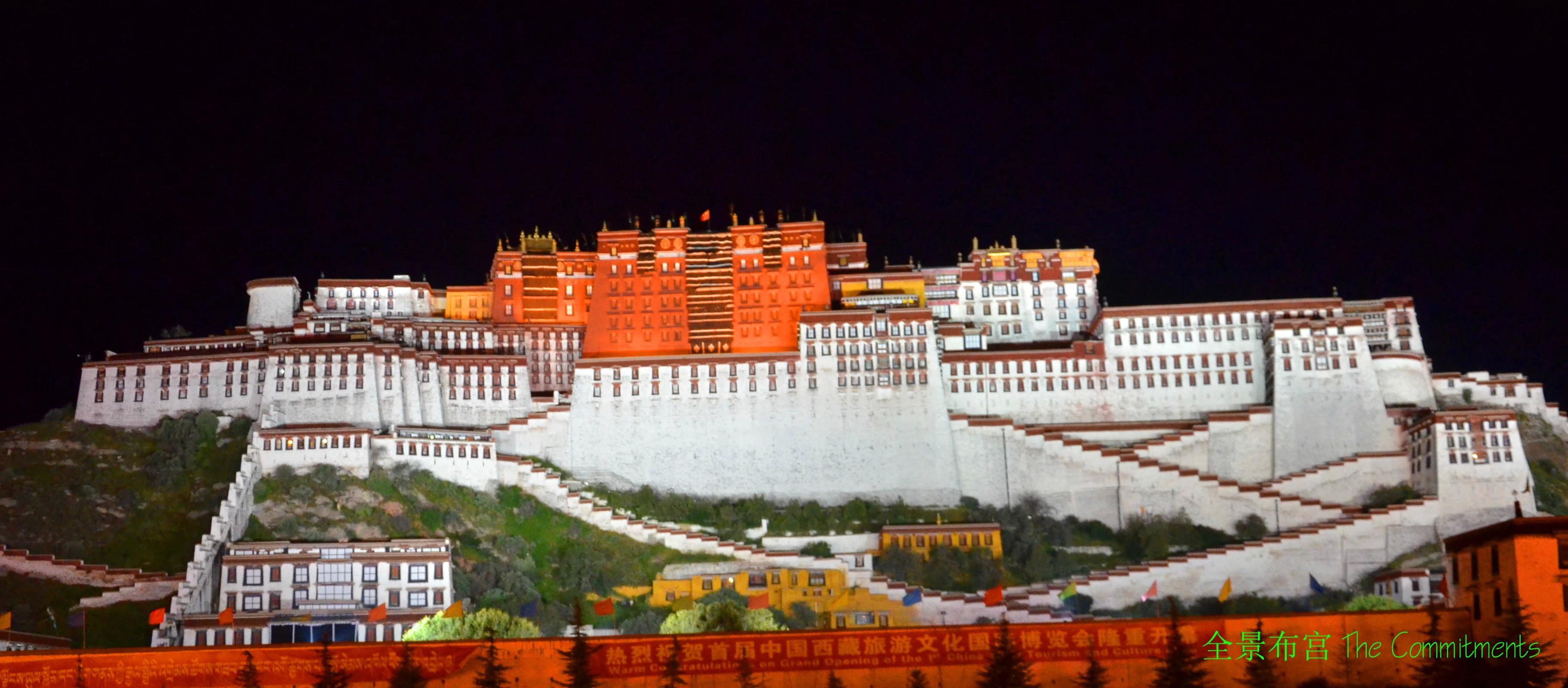 梦中的布达拉宫