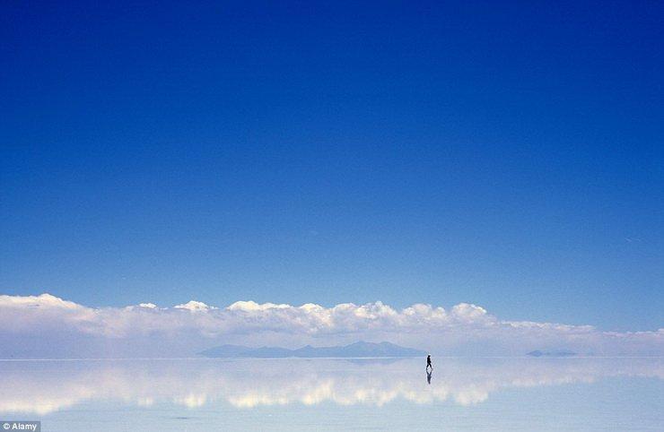 上帝的赏赐-乌尤尼盐沼天空之境